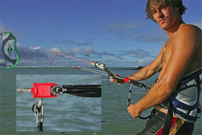 smartloop naish kiteboarding harakiri leash attachment point
