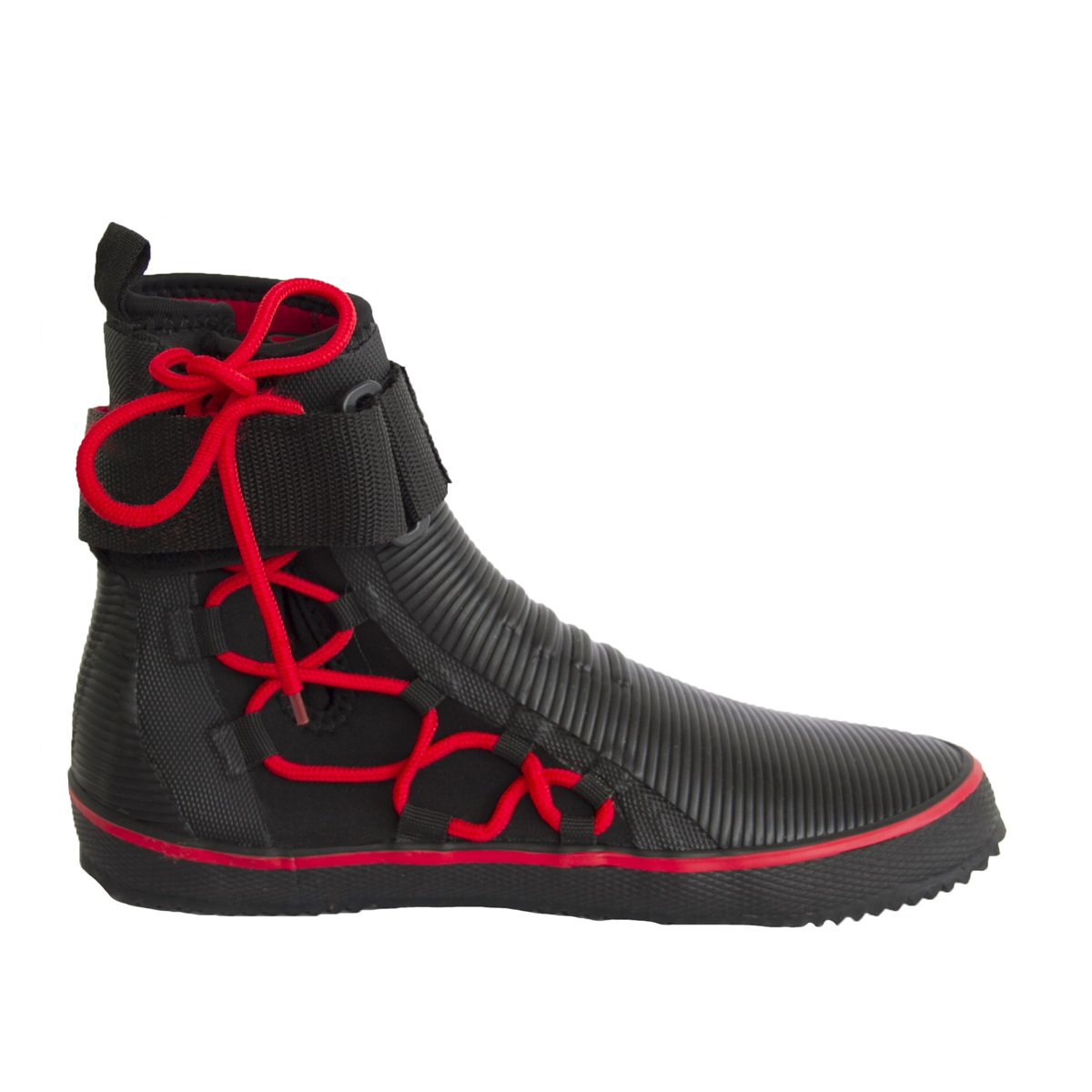 GUL 5mm BS PRO LACE BOOT vel. 4 - BO1304 blk/red