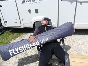 Kite Flysurfer VMG2 - odpočinek s miláčkem