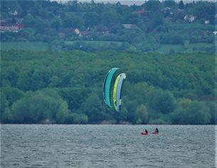 kite Flysurfer VMG2 vs SONIC3 upwind