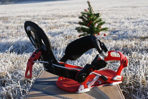 Snowboard a snowkite vázání SP